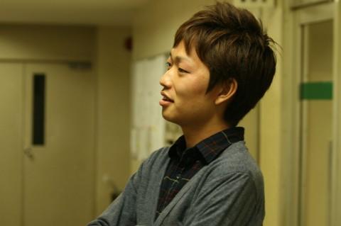 「『映画大好き』と言いたい」 中江光太郎(日本映画大学2年)