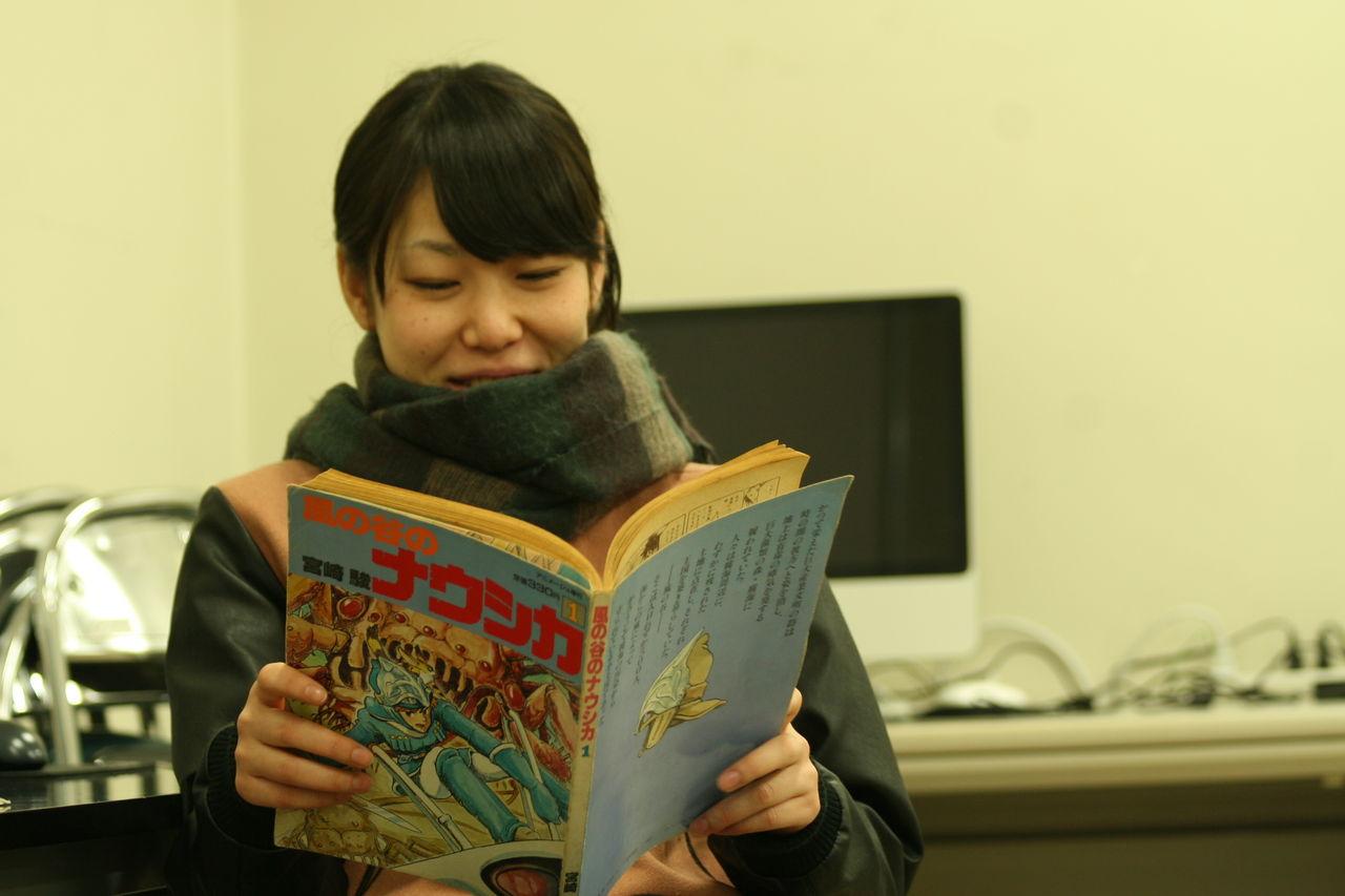 「風の谷のナウシカ」竹内亨織(日本映画学校 映像科3年)